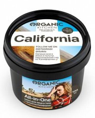 Organic Kitchen от блогеров Крем для лица и тела «ALL-IN-ONE. CALIFORNIA» от @itolkie 100мл